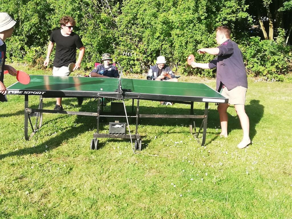 het leven van een pingponger